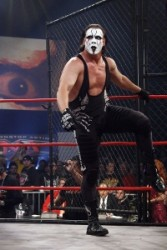 Sting enters the ring at Lockdown 2008