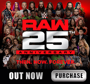 WWE Raw 25th Anniversary DVD