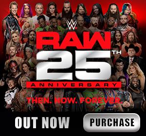 WWE Raw 25th Anniversary DVD