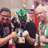 Michel with Al Snow and Ken Anderson