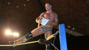 KNOX OUT: Dal Knox outlasted 19 other men to win a guaranteed shot at the IPW Championship. PHOTO: Impact Pro Wrestling