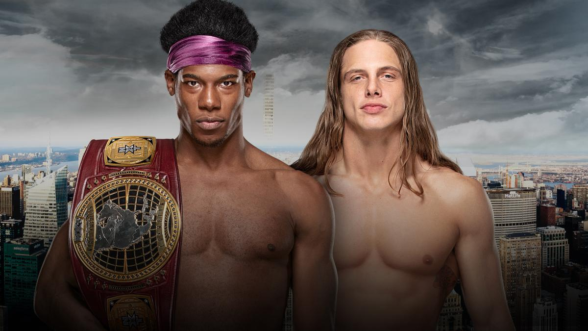 NXT North American Championship: Velveteen Dream (c) vs. Matt Riddle